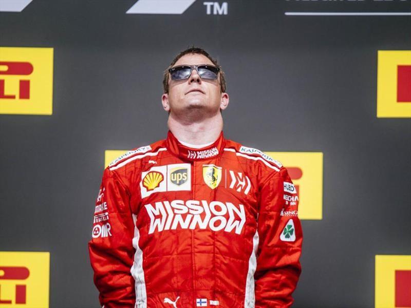 F1 GP de EE.UU. 2018: la fiesta de Räikkönen
