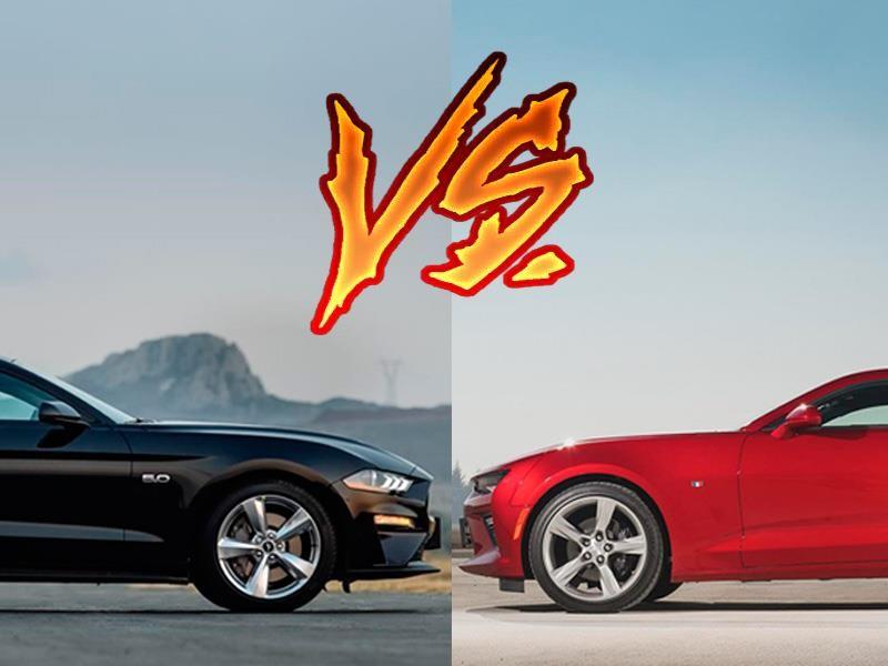 Ford Mustang 2018 vs Chevrolet Camaro 2018