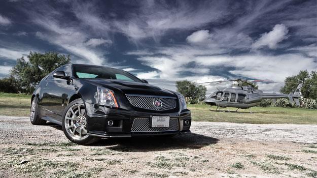 Test de Cadillac CTS-V Coupé 2012