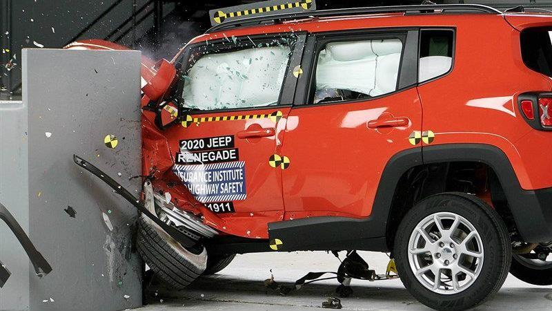 Jeep Renegade 2020 es reconocido con el Top Safety Pick