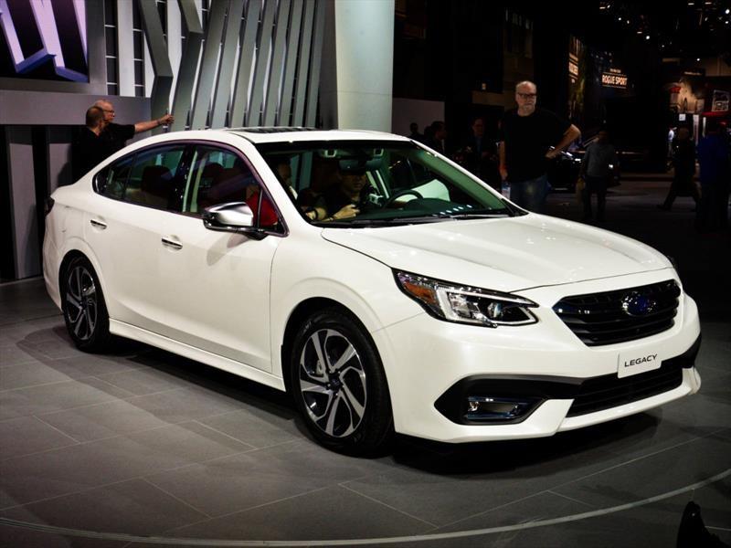 Chicago 2019: llega la séptima entrega del Subaru Legacy