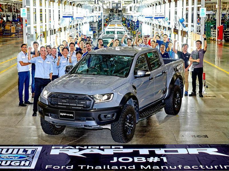 Ford comienza la producción de la Ranger Raptor 2019