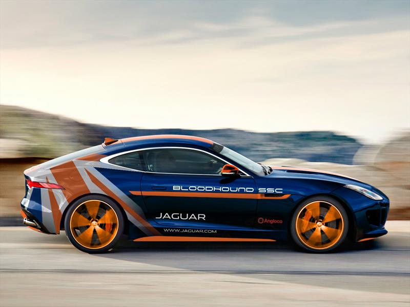 Jaguar F-Type R AWD Bloodhound SSC RRV, el último proyecto de Special Vehicle Operations