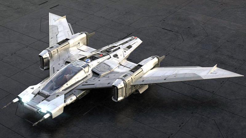 Esta nave espacial de Star Wars fue diseñada por Porsche