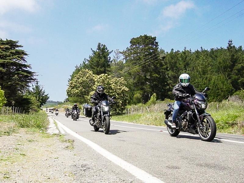 Ruta Bajaj hacia Quintay se realizó con éxito de convocatoria