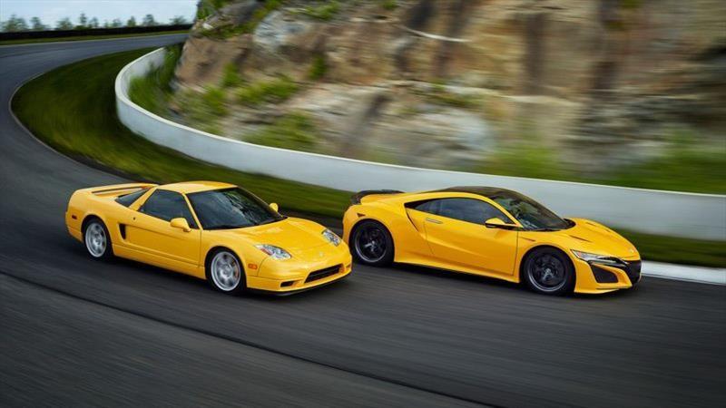 Acura NSX 2020 estrena el clásico color amarillo de la generación anterior