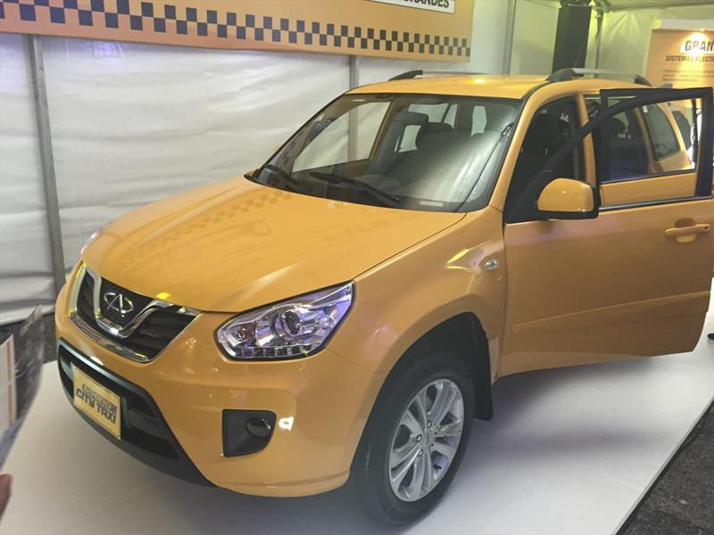 Chery Grand City Taxi, en Colombia desde $43'990.000