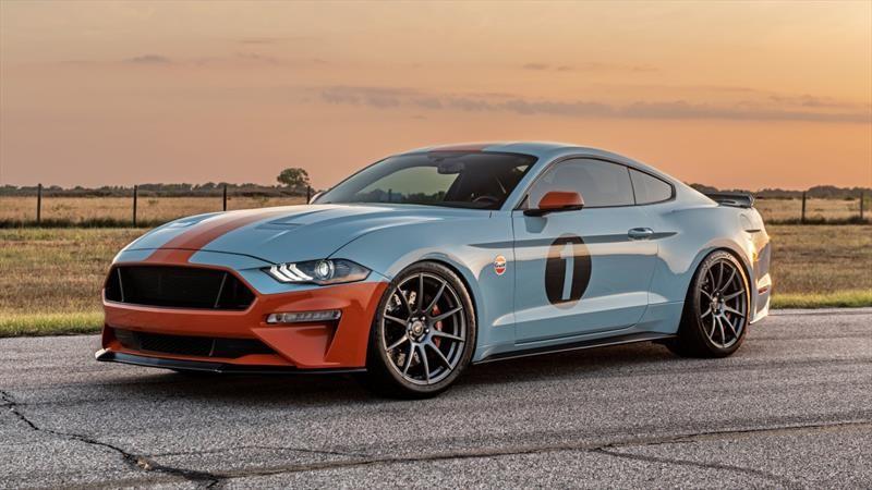 Gulf Heritage Edition Mustang dotado de 800 hp, rinde homenaje al Ford GT