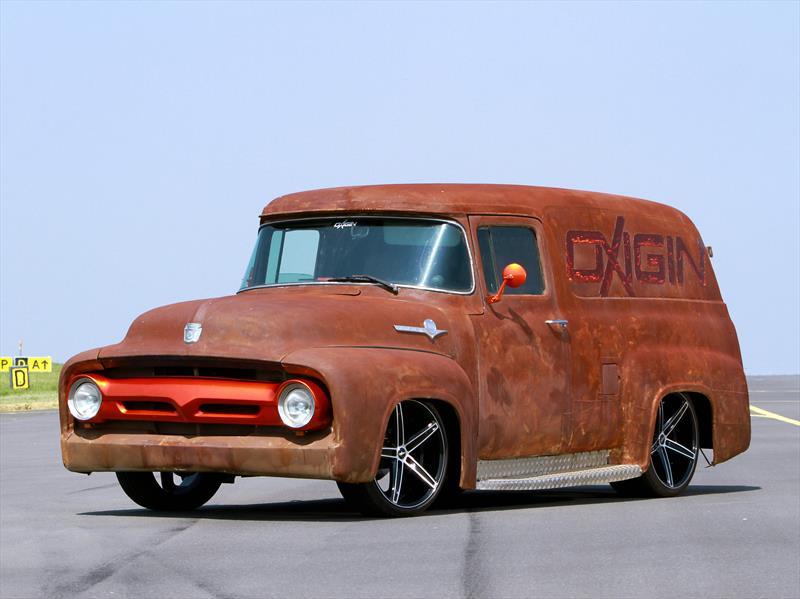 Oxigin ford f 100 tuning en un cl sico for Espejo para ver al bebe en el auto