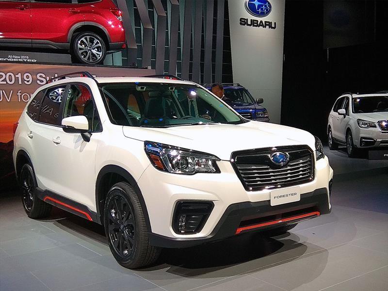 Subaru Forester 2019, renovación tecnológica