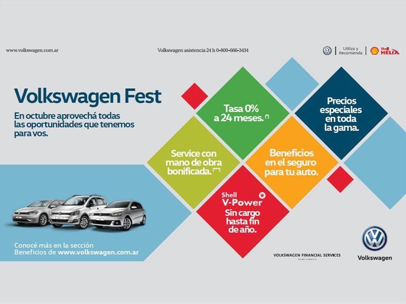 Volkswagen lanza beneficios durante octubre