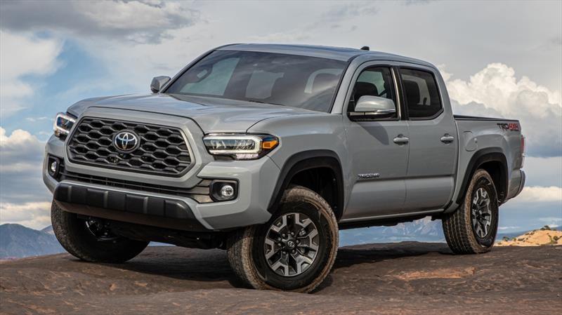 Toyota Tacoma 2020 obtiene un nuevo look y más tecnología