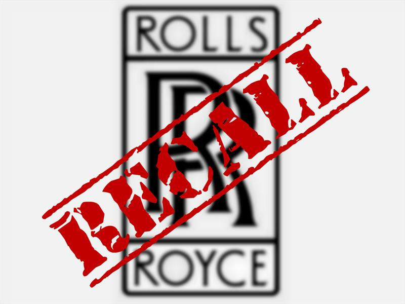 Recall de Rolls-Royce en Estados Unidos