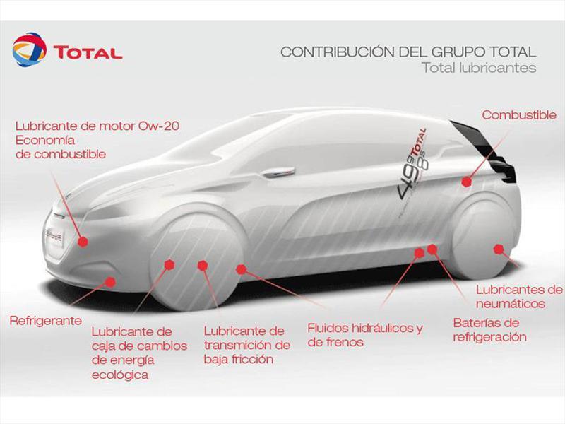 Peugeot y Total trabajan en el 208 Híbrido