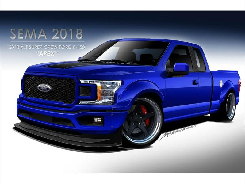 Ford F-150 2018 por ZB Customs and Kurt Busch, un soberbio pickup con 1,000 hp