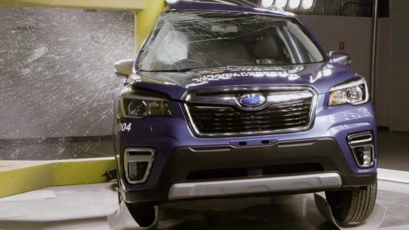 Subaru Forester es el auto más seguro en la historia de los crash test en Japón