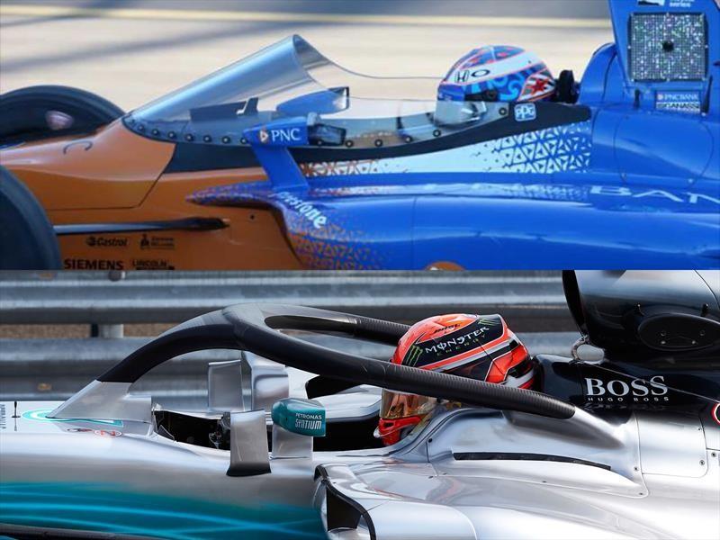 Halo F1 vs Indy Windscreen, ¿cuál protege mejor a los pilotos?
