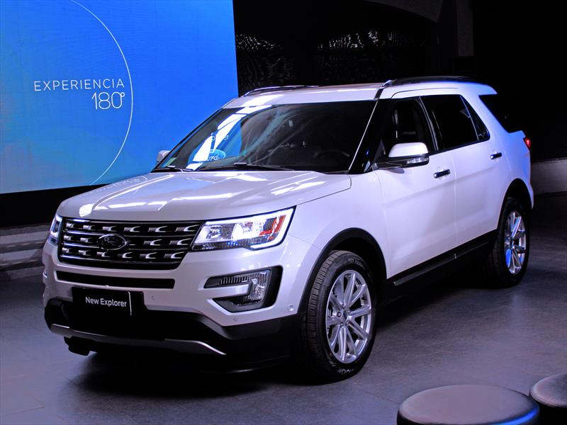 Ford Explorer 2016: Inicia venta en Chile