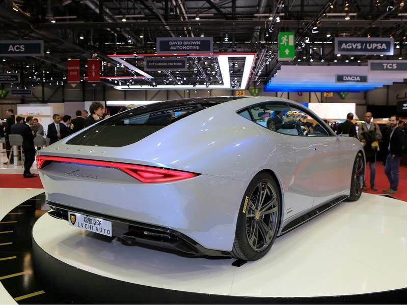 LVCHI Venere es un súper auto eléctrico chino-italiano
