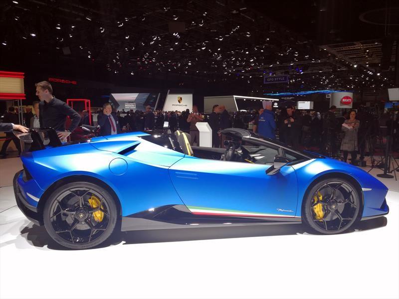 Lamborghini Huracán Performante Spyder, vértigo a cielo abierto